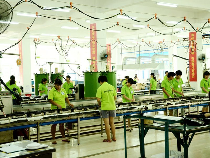 The scene of Production Lines