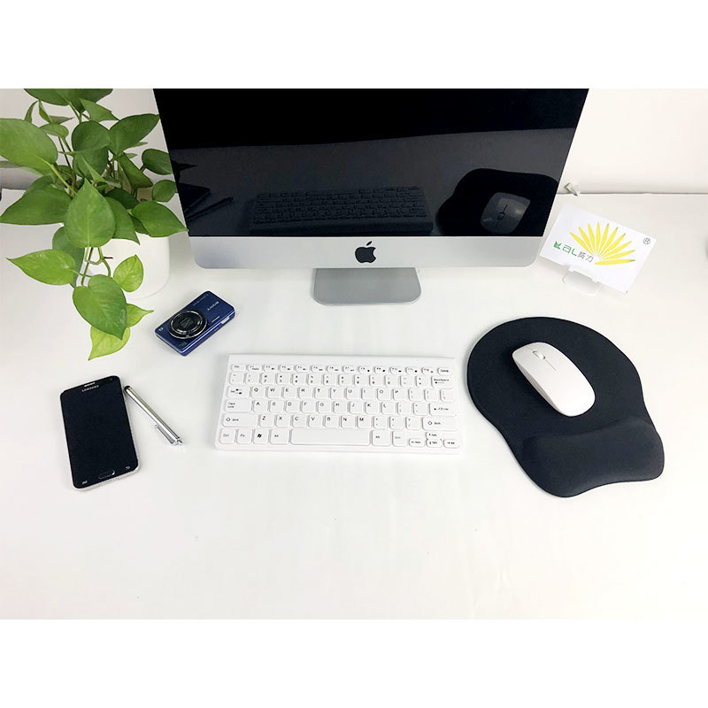 Ergo gel mouse pad with hand pillow PU base help stable at the desk suitable for office and home