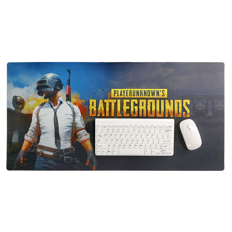 KAL  KAL Extended Gaming Mouse Pad - Non-Slip Water-Resistant Rubber Base Cloth Computer Mouse Mat Without Stitched image1