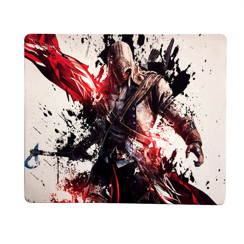 Silicone-Based Gaming Mouse Pad for stable on the desk , Precise & Silent Control,Cloth Surface Optimized for Speed -  Pro Gaming Mouse Pad