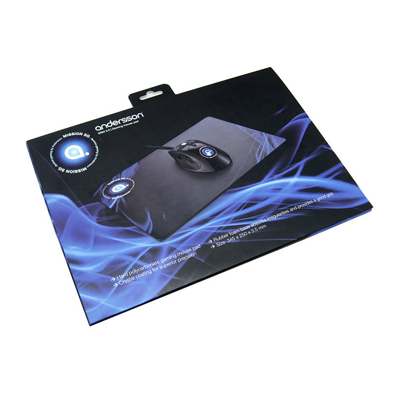 hard mouse mat tracking black abs Warranty KAL