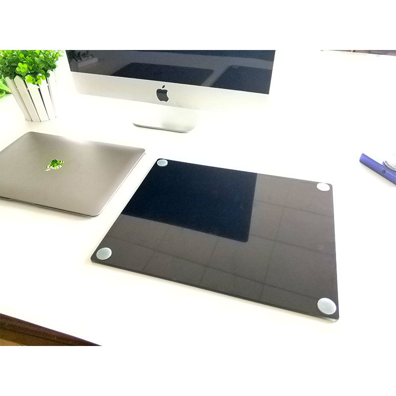Glass Mouse Pad - Stylish, Durable Office Accessory