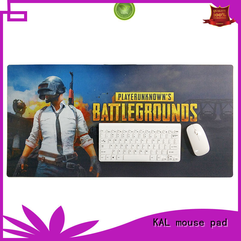 rubber computer cloth oversized mouse pad KAL manufacture