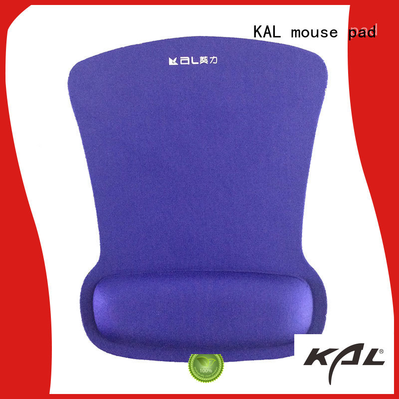 gel anti-slip hand rest mouse pad elastic cloth top KAL Brand