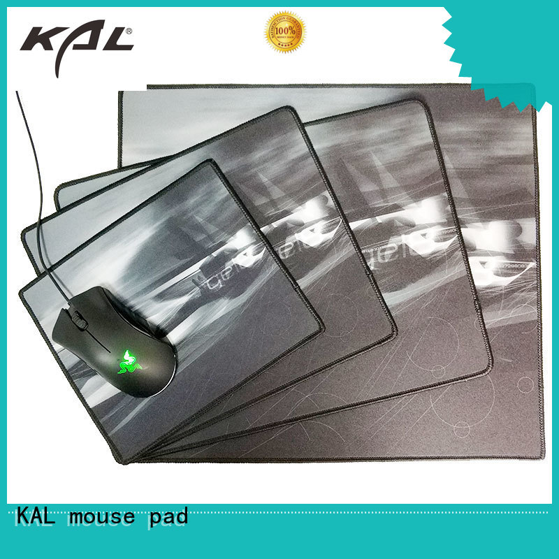 Custom laptop nonslip best gaming mouse pad KAL surface