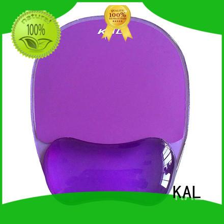 rubber rest slip blue KAL Brand clear mouse mat supplier