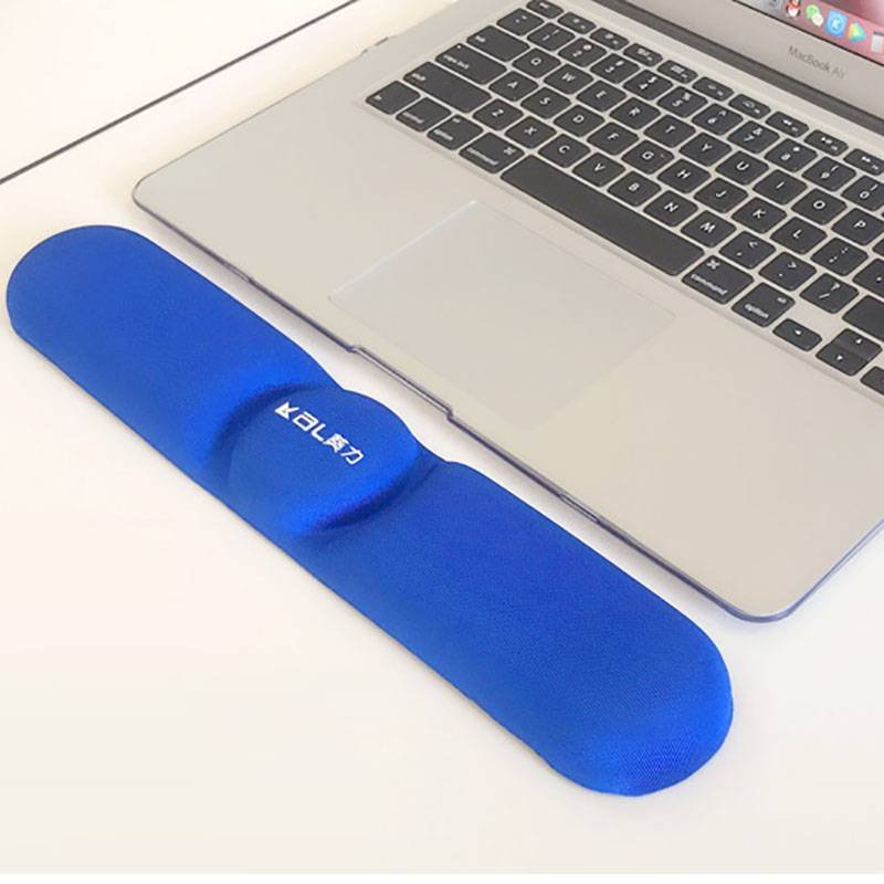Ergonomic keyboard pad help relieve the wrist pressure when typing comfortable hand wrist support pad