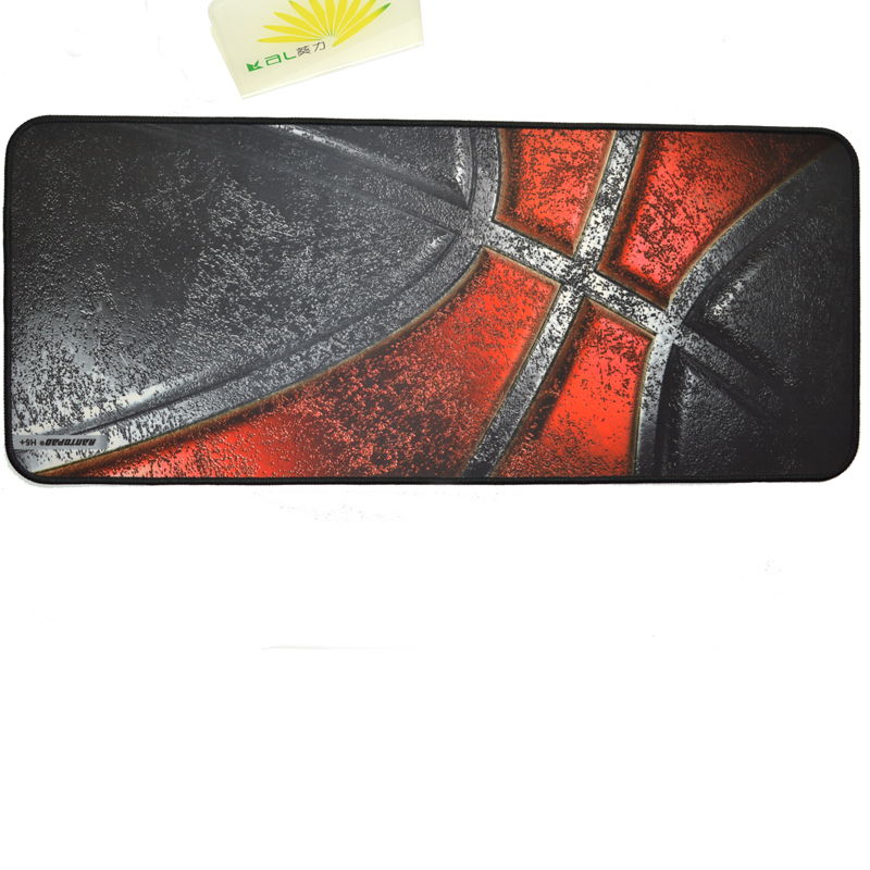 KAL  Gaming Mouse Pad XL 700x300mm,3mm Thick Non-Slip Water-Resistant Rubber Base with Stitched Edges for PC Laptop Computer With Stitched image2