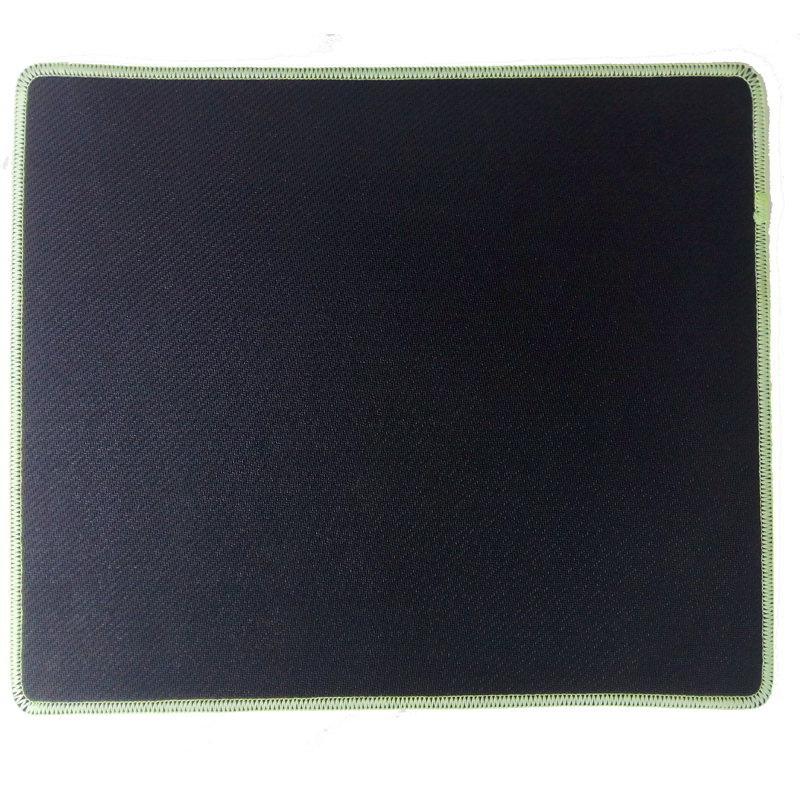 KAL  Standard Size Fluorescent Gaming Mouse Pad/Mat with Smooth Surface and Stitched Edges Non-Slip Rubber Base With Stitched image1