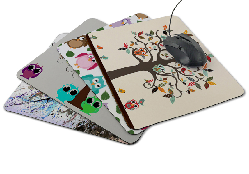 tropical Custom multi flat mouse pads rubber KAL