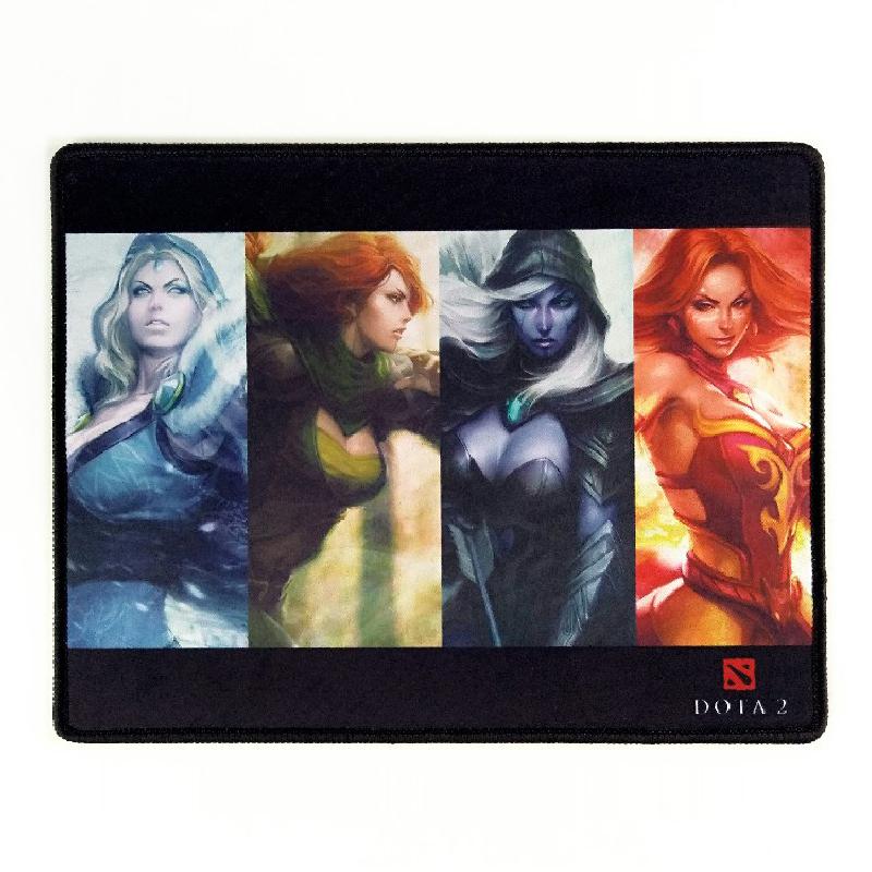 Photo printing desk mat/gaming mouse pad, stitching edge gaming pad