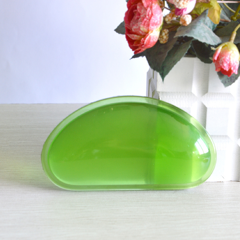 Beautiful transparent wrist rest pad silicon hand cushion for using mouse