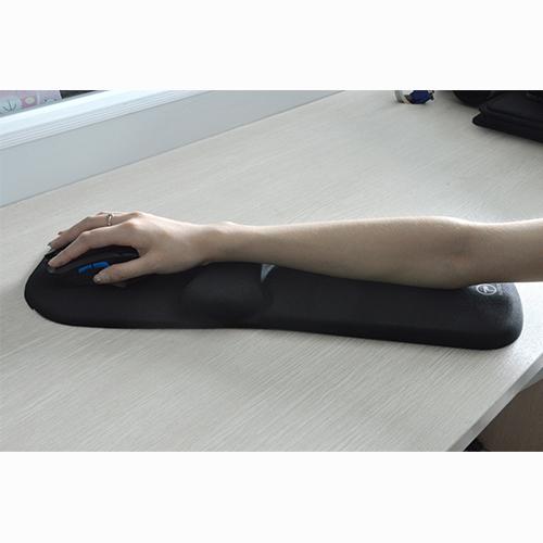 Supper large size ergonomic mouse pad with long arm rest pad comfortable arm wrist rest