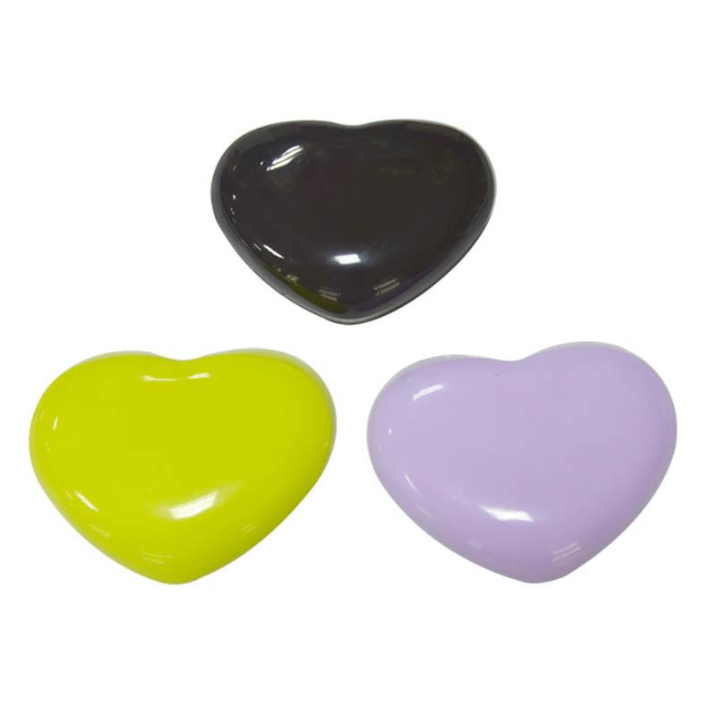 Heart shape hand support soft silicon wrist cushion pad non-slip PU base office desk hand pillow