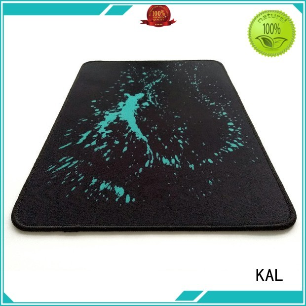 KAL Brand smooth water resistant mouse cloth best gaming mouse pad