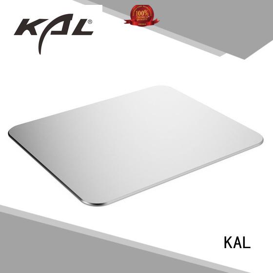 aluminum gaming mouse pad soft desktops rest KAL Brand aluminum mouse pads