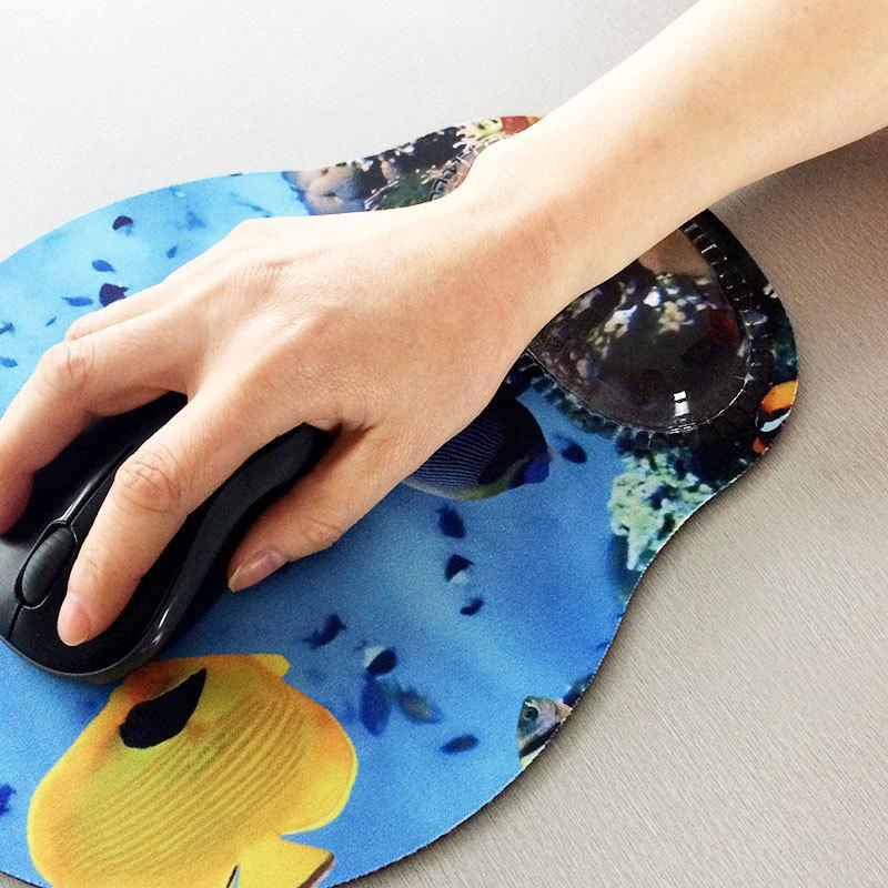 KAL Brand foam wristband wrist Crystal Gel Mouse Pad Wrist Rest mat