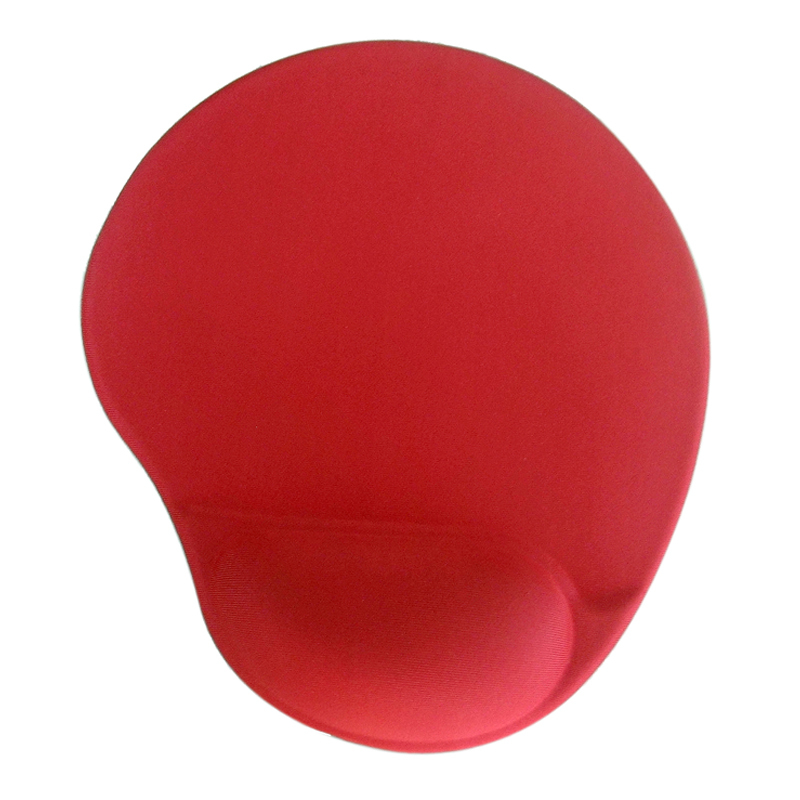 Big Size Cloth Silicone Mouse Pad, Your design printing Memory Foam With Wrist Rest Wholesale