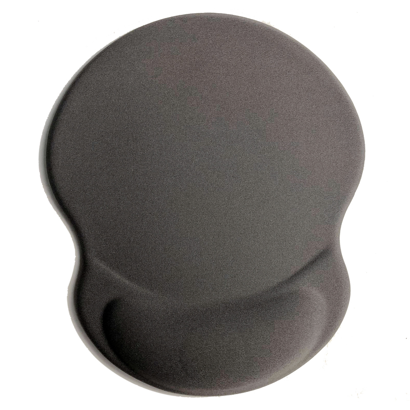 Novel design Gel Mouse Pad With Wrist Rest Roll Material PU Base Free Sample