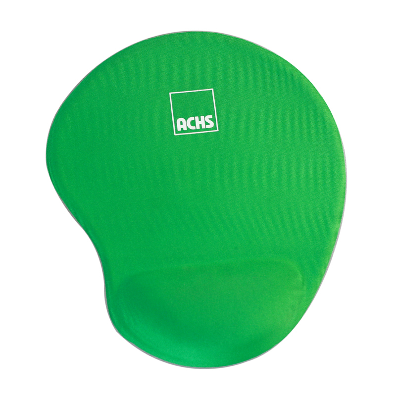 Green Gel Cloth Mouse Pad With One Custom Logo Free Sample KAL mouse pad manufacturer