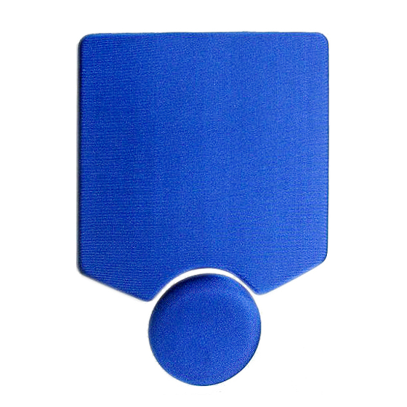 Separate individual two part Gel Mouse Pad With Wrist Rest Sample Free