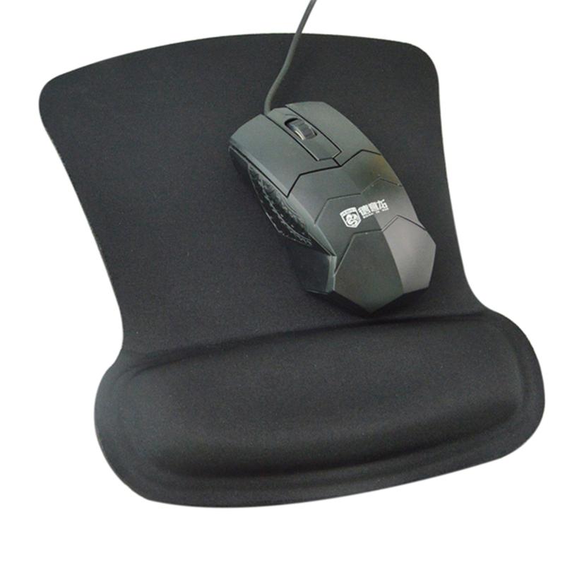 KAL  Ergo Memory Foam Mouse Pad With Wrist Rest Rubber Base Foldable Memory Foam image7