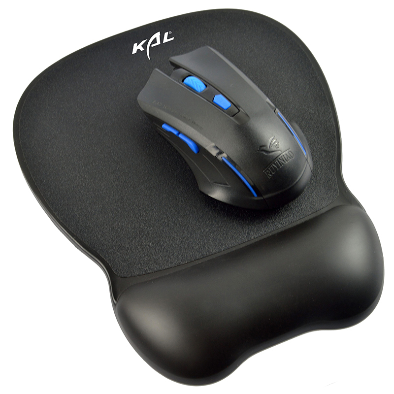 High-end PU leather mouse pad,Gel Mouse Pad with wrist rest,Gorgeous Like Leather Ergonomic Mouse Pad Wrist Rest
