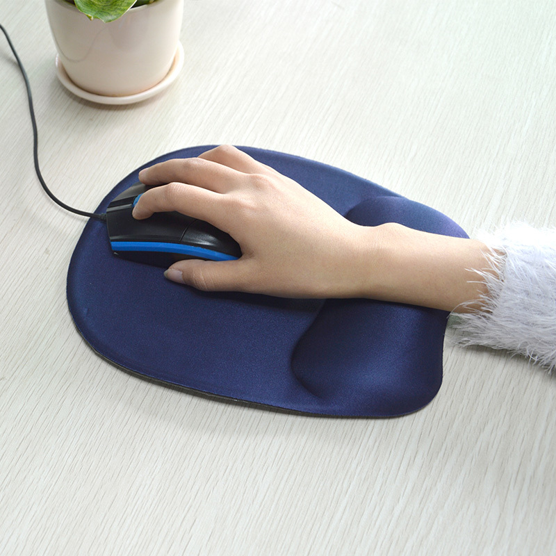 Ergonomic office Gel Mouse Pad With Wrist Rest Custom Logo Free Sample Mouse Pad Manufacturer