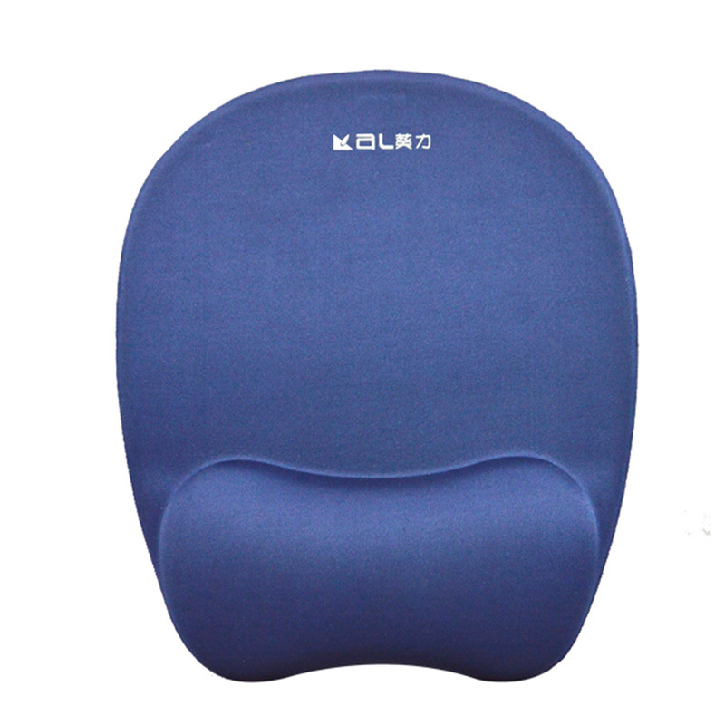 Hot Selling Comfortable and lightly Memory Foam Soft Mouse Pad PU Bottom Custom Size