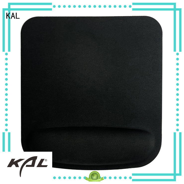 KAL Brand elastic cloth top mouse pad mouse pad with wrist support ergonomic