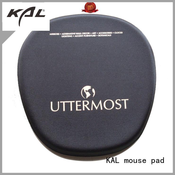 Hot non foam mouse pad rest KAL Brand