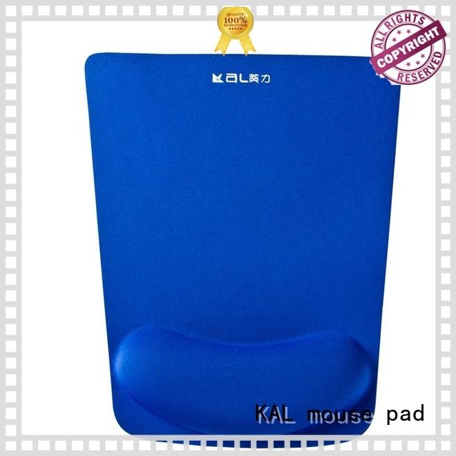 memory Custom gel hand rest mouse pad elastic cloth top KAL