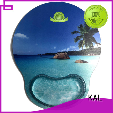 KAL Brand slip beach Crystal Gel Mouse Pad Wrist Rest multi