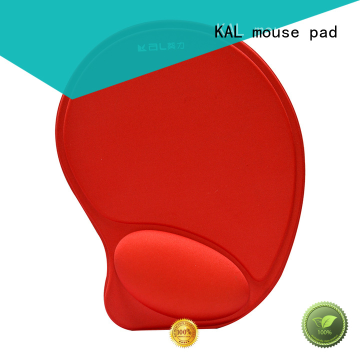 cushion elastic cloth top memory KAL Brand hand rest mouse pad