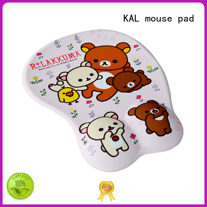 Wholesale heartshaped laptop mouse pad KAL Brand